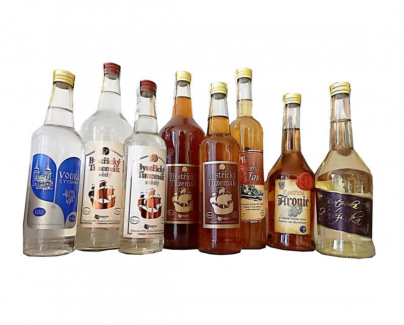 Lihoviny, lihové nápoje, likéry